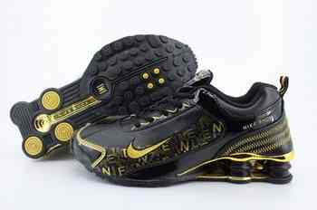more photos c2f8e 39aff Chaussures Nike Shox R4 Homme H28 Jaune Gris
